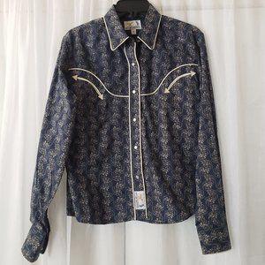 Panhandle Women's Western Shirt Slim Pearl Snap